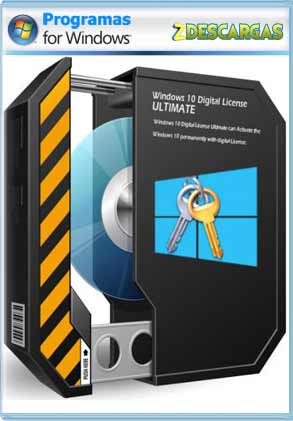 Descargar Activador Windows 10 Digital License Ultimate 1.1 2019 full español mega /