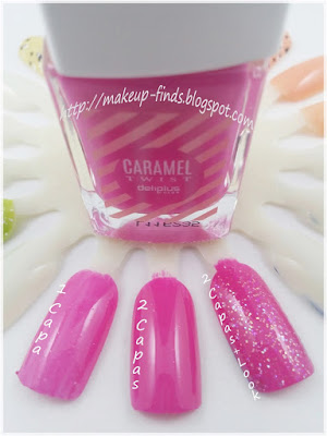 DeliPlus: Esmaltes CaramelTwist&Candy (review+swatches)