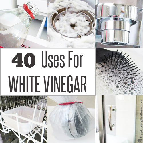 Anyone who has read my cleaning posts will know that I love white vinegar.  Someone recently asked if I had a comprehensive list of everything I use it  for, ...