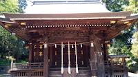 川崎市子之神社 社殿