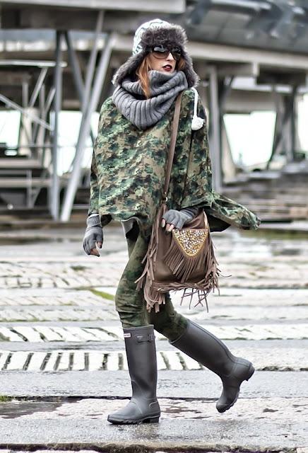 botas para andar con lluvia