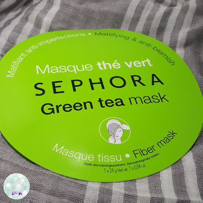 Sephora Green Tea Mask | Kat Stays Polished