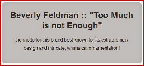 Too Much is not Enough Beverly Feldman