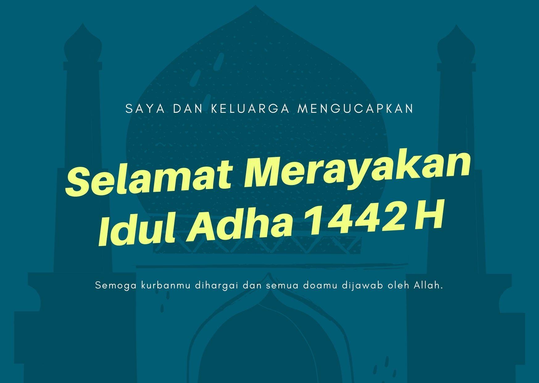 Kata-Kata Selamat Idul Adha 2021