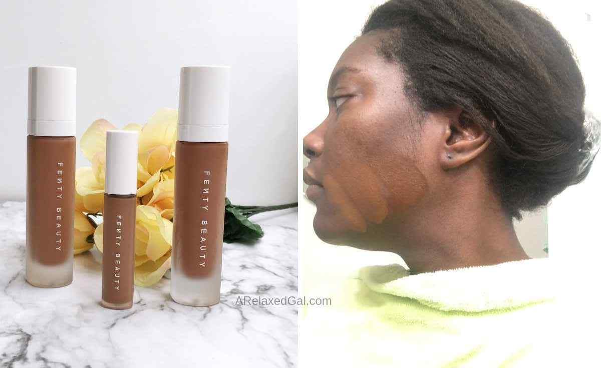 Searching for the perfect Fenty Foundation Shade. | A Relaxed Gal