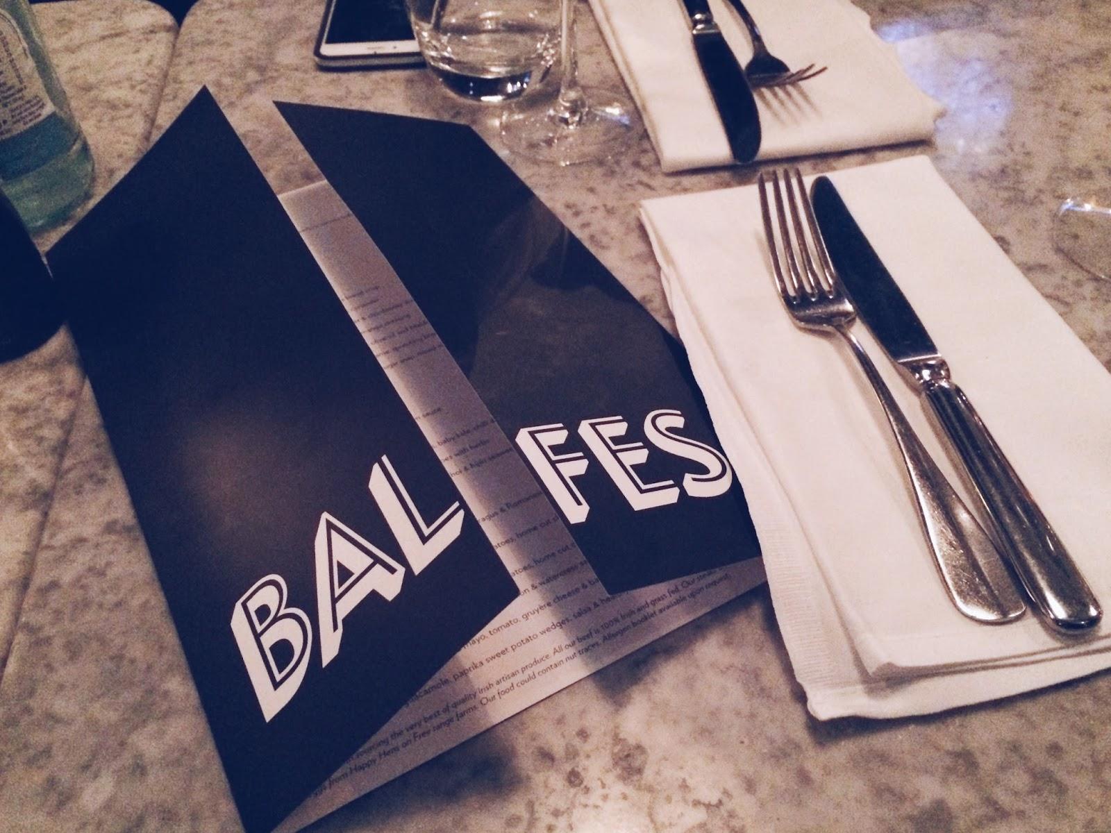 Balfes at the Westbury Hotel