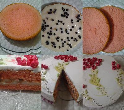 Çiçekli pasta nasıl yapılır