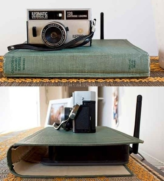 esconder o modem, a casa eh sua, acasaehsua