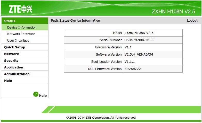 Zte zxhn h108n user manual defectos