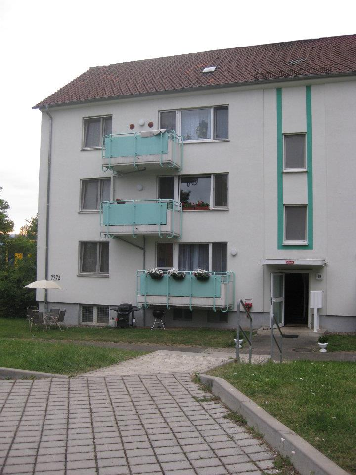 Military Monday Stairwell Housing In Germany
