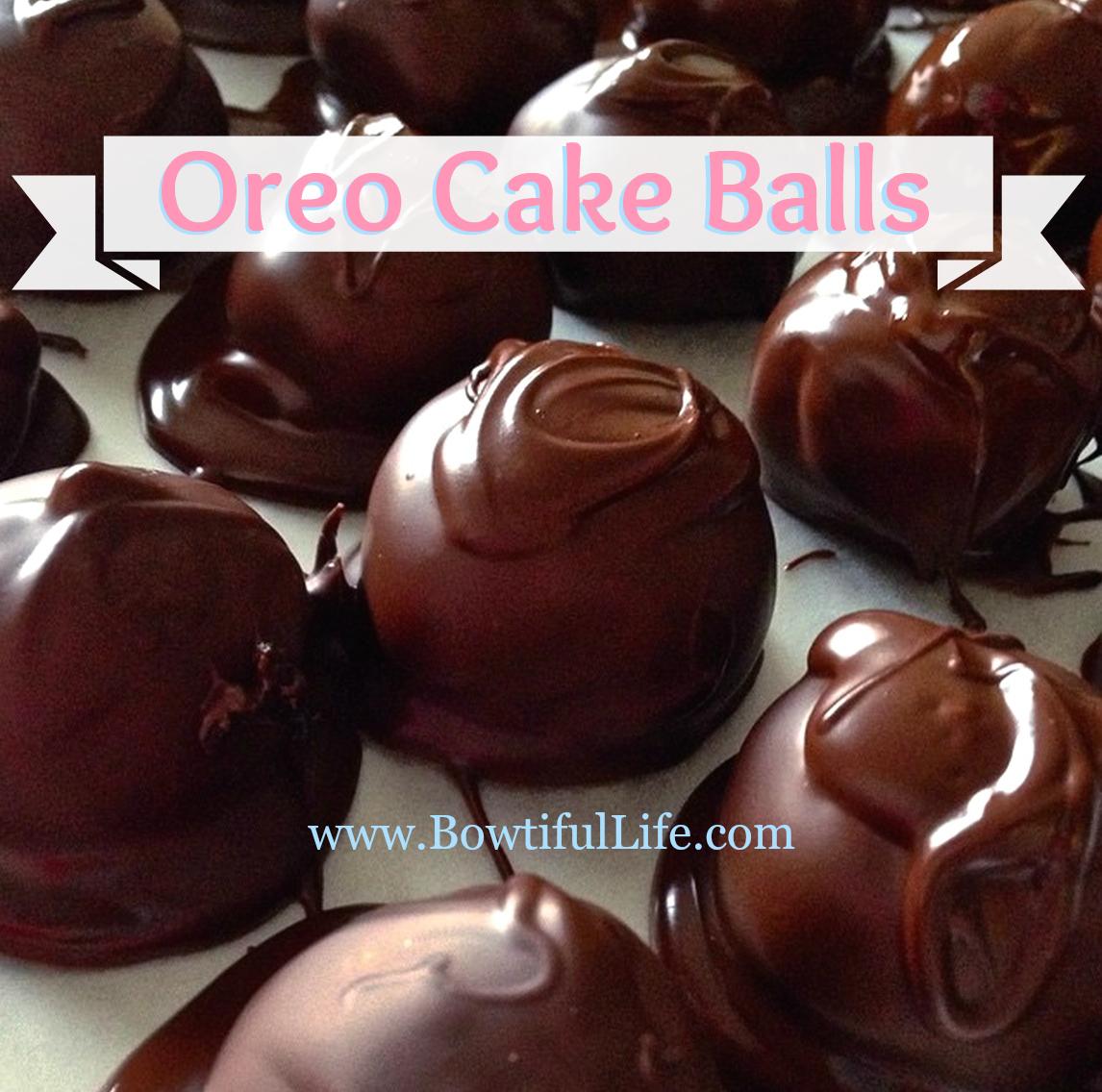 Oreo Cake Balls – No Baking Required