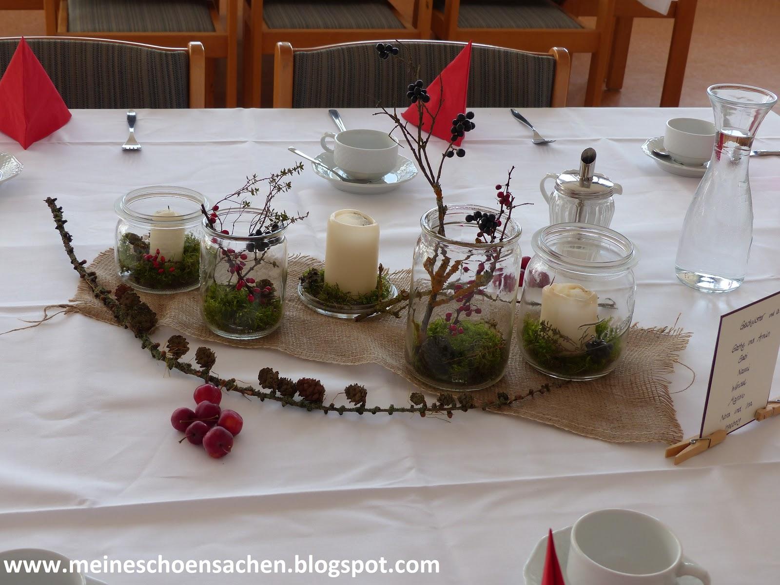 Tischdeko Geburtstag