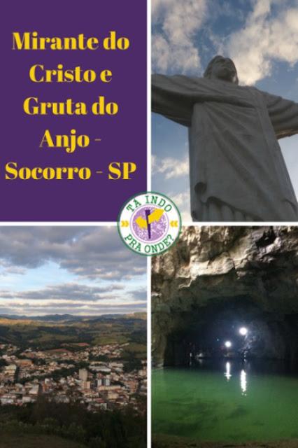 O que fazer em Socorro (SP): Mirante do Cristo e Gruta do Anjo