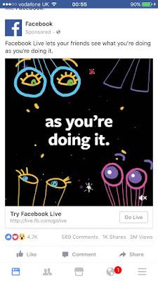 Facebook Live ad campaign