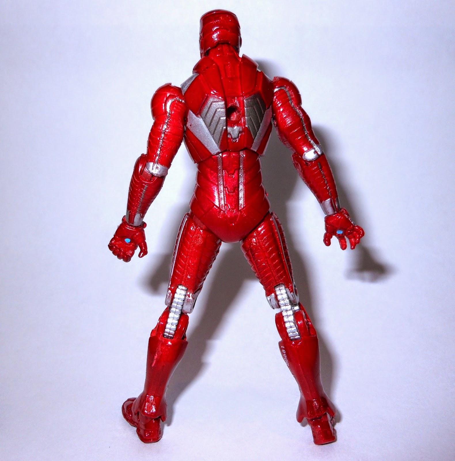 figuras de acción a go-gó: iron man (mark v) (iron man 2: movie series)