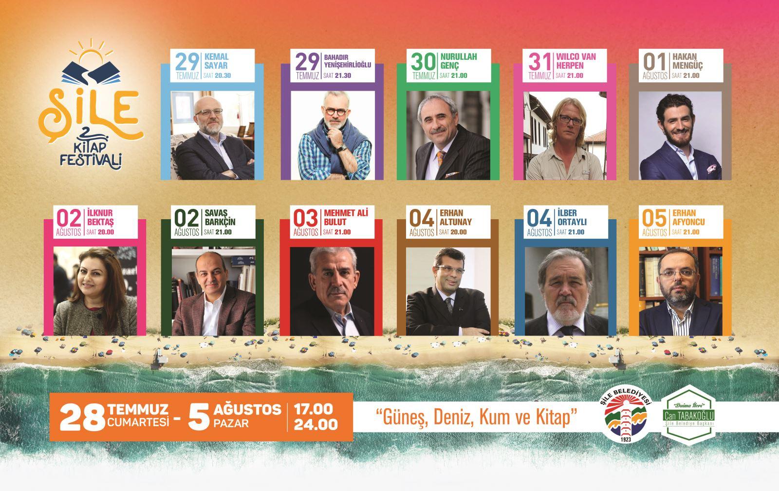 Şile'de 2'incisi Düzenlenen Kitap Festivali
