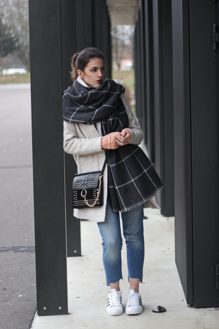 Winterliches Outfit Streetstyle