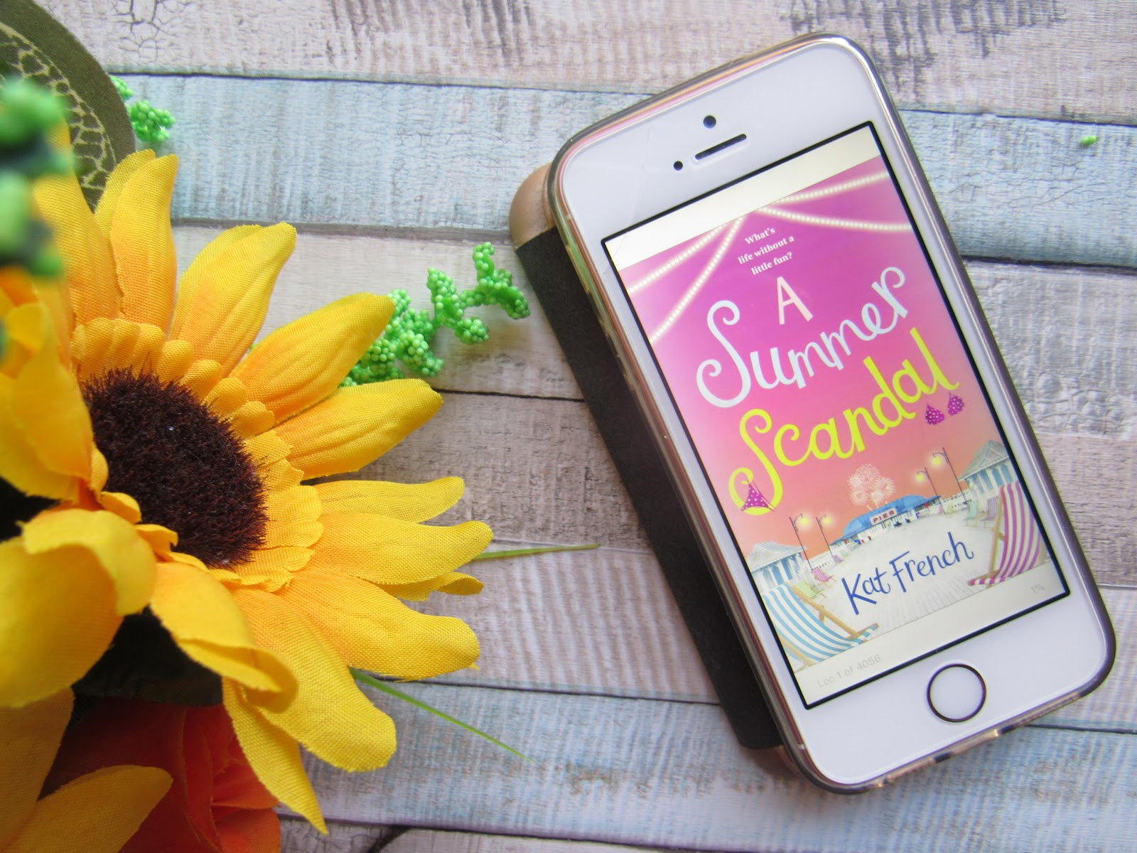 Blooming Fiction Book Review | A Summer Scandal By Kat French