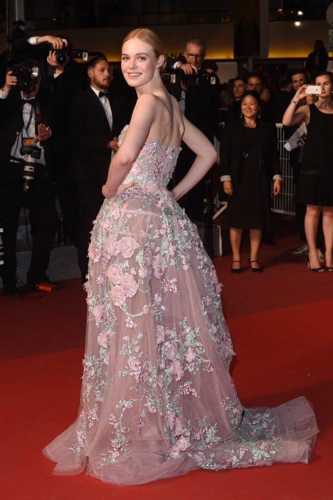 Elle Fanning – 'The Neon Demon' Premiere at 2016 Cannes Film Festival