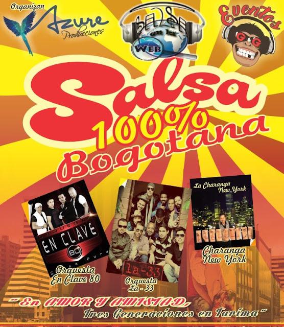 ► Salsa 100% Bogotana