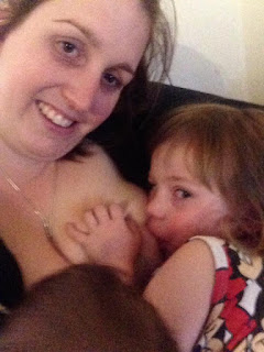 breastfeeding a toddler 3 year old