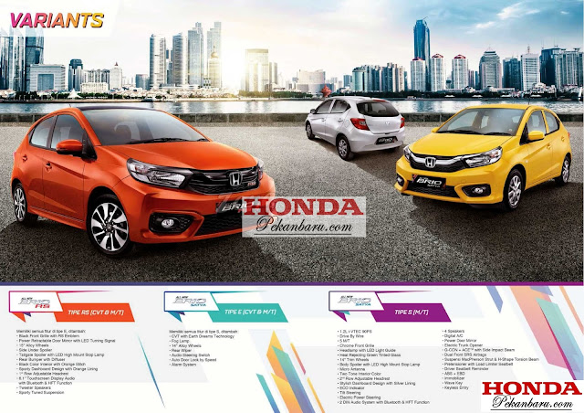 All New Honda Brio 2018 Pekanbaru Riau
