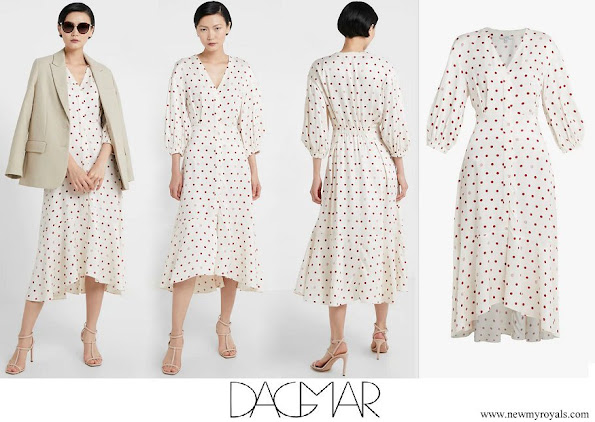 Princess Madeleine wore House of Dagmar VivIan Dress
