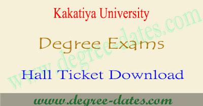 Manabadi KU degree hall tickets 2017 download