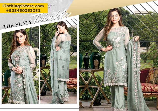 Imrozia Premium Embroidery Collection 2017