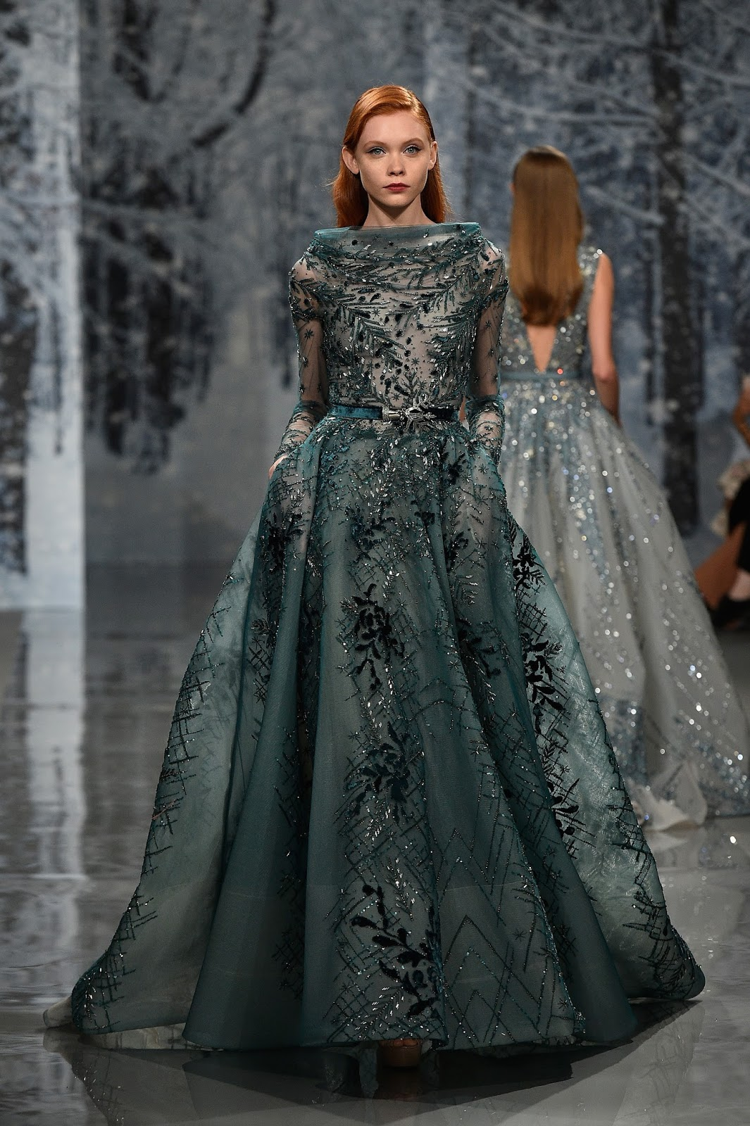 Frumpy to funky for Haute couture