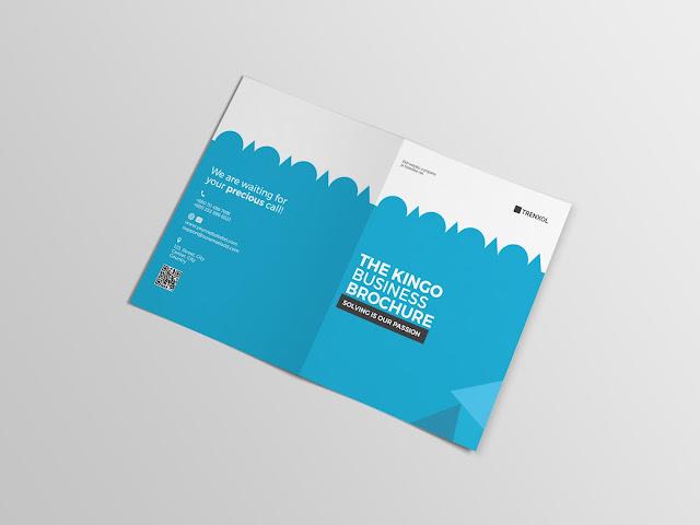 Corporate Bifold Brochure EnvatoMarket