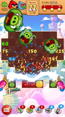 لعبة Angry Birds Blast مهكرة جاهزة للاندرويد, لعبة Angry Birds Blast مهكرة بروابط مباشرة
