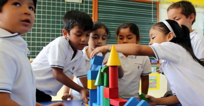 MINEDU: Se mantiene edad cronológica al 31 de marzo para la matrícula en Educación Inicial, informó el Ministerio de Educación - www.minedu.gob.pe
