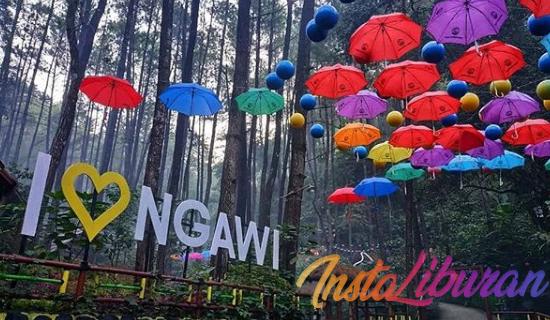 InstaLiburan - Srambang Park Ngawi Wisata Alam Yang Instagramable