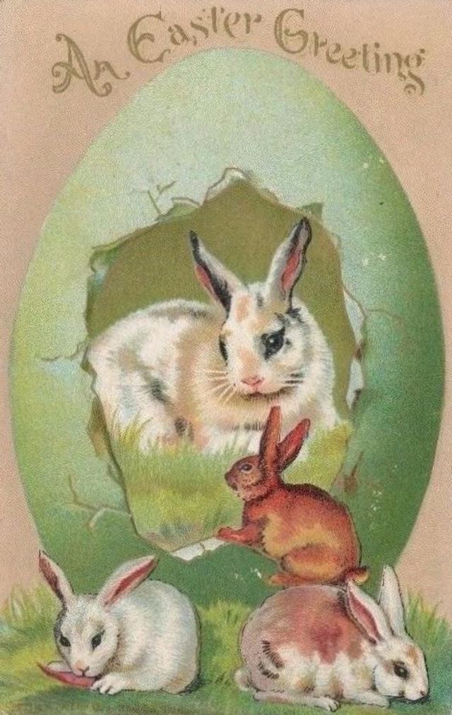 Vintage Easter Rabbit 41