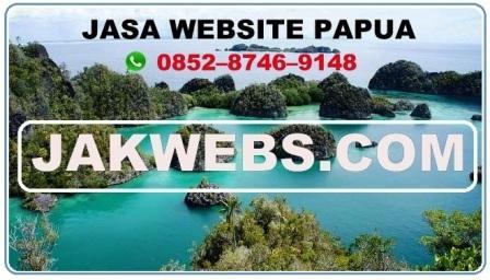 JASA WEBSITE PAPUA
