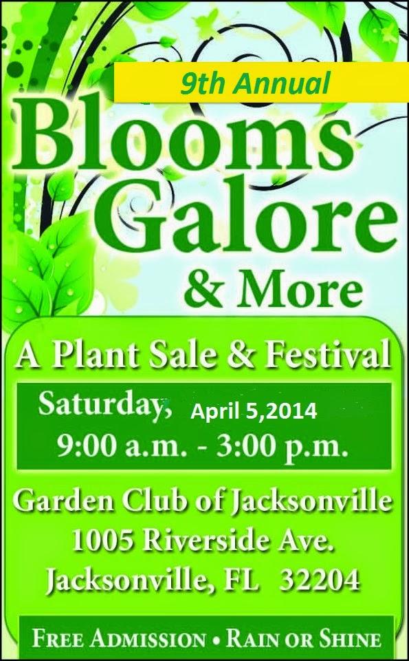 http://jacksonvillemag.com/event/blooms-galore-plant-sale-artisan-festival-garden-club/