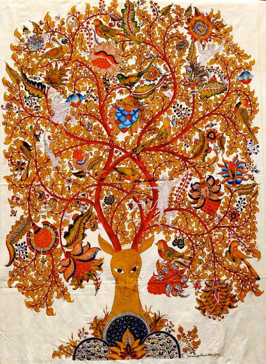 Pure Ghee Designs  Kalamkari paintings for Samode Safari