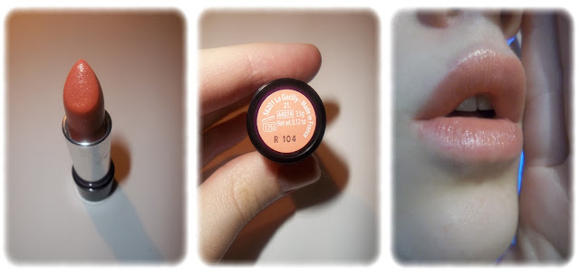 Swatch Rouge à Lèvres Luminelle - Yves Rocher - Teinte Pêche