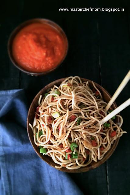 Chowmein   Vegetable Stir Fry Noodles