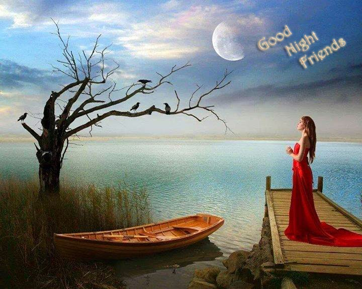 good night beautiful image wallpaper