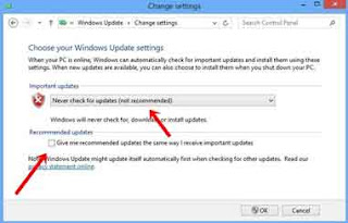 disable update windows,cara menonaktifkan auto update windows 8,windows 8 update