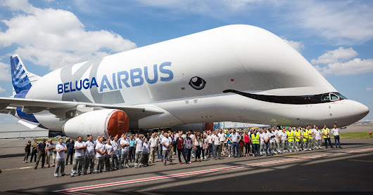 Airbus rolls out first BelugaXL transporter