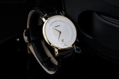 đồng hồ Orient nam dây da
