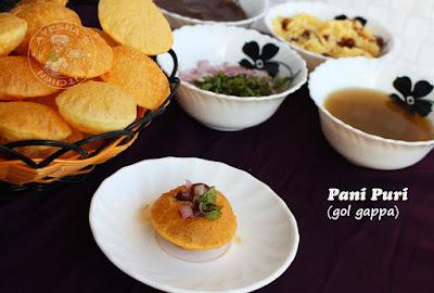 pani puri green water pani golgappa perfect puri for pani puri potato filling street food style ayeshas kitchen