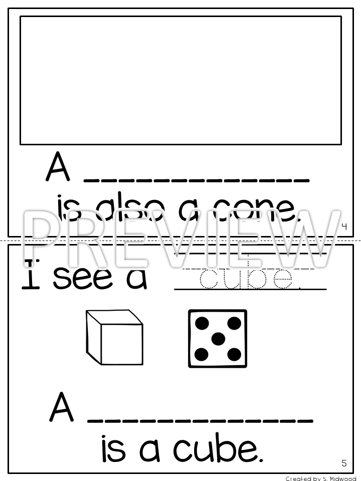 Lovin' Little Learners: 3D Shapes are Fat not Flat!