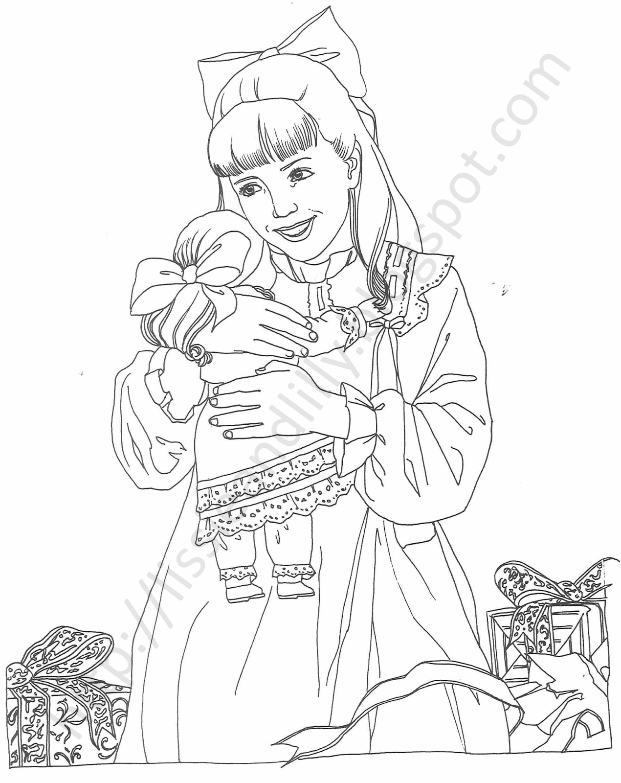 makayla coloring pages - photo#28