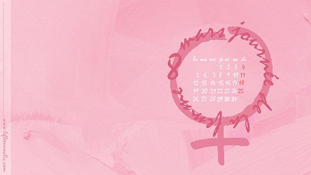 journée internationale des femmes, 8 mars, fond d'écran