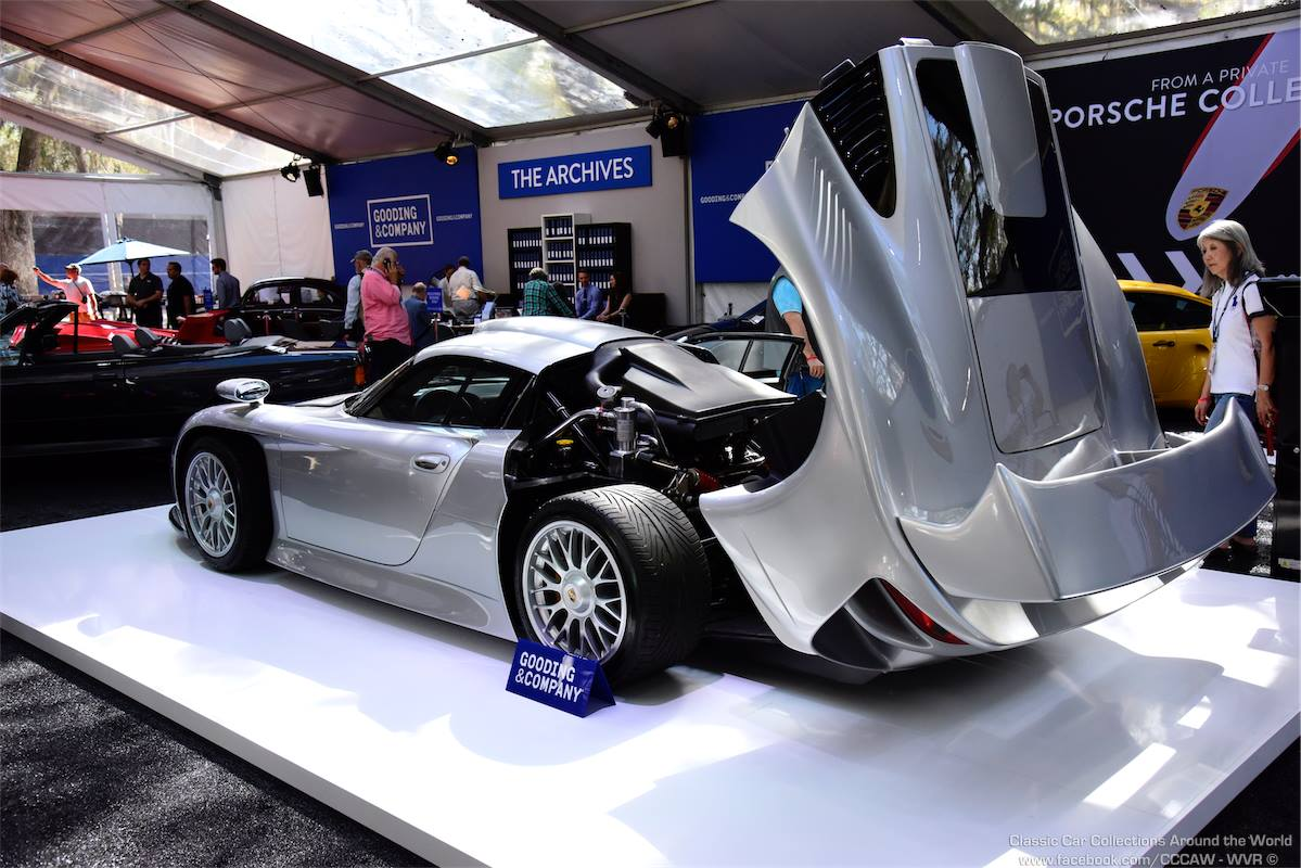 rare porsche 911 gt1 strassenversion sells for million. Black Bedroom Furniture Sets. Home Design Ideas