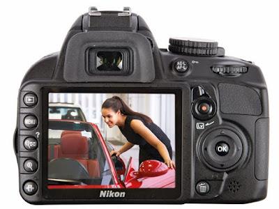 """LCD 3"""" yang memudahkan kalian dalam melihat hasil foto atau video"""